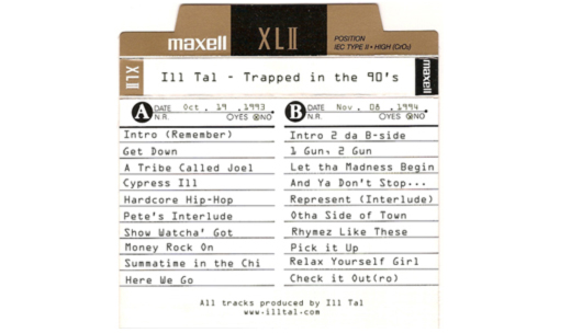 Ill Tal - Trapped in the 90's